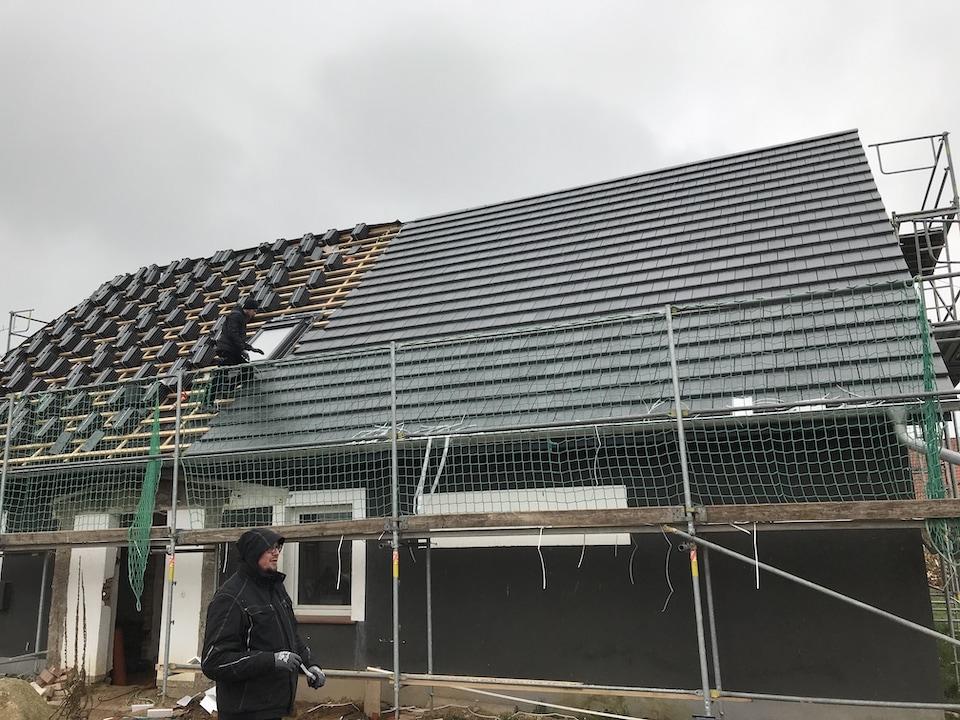 Dachdeckerei Krüger © 2018 - Einbau einer Gaube