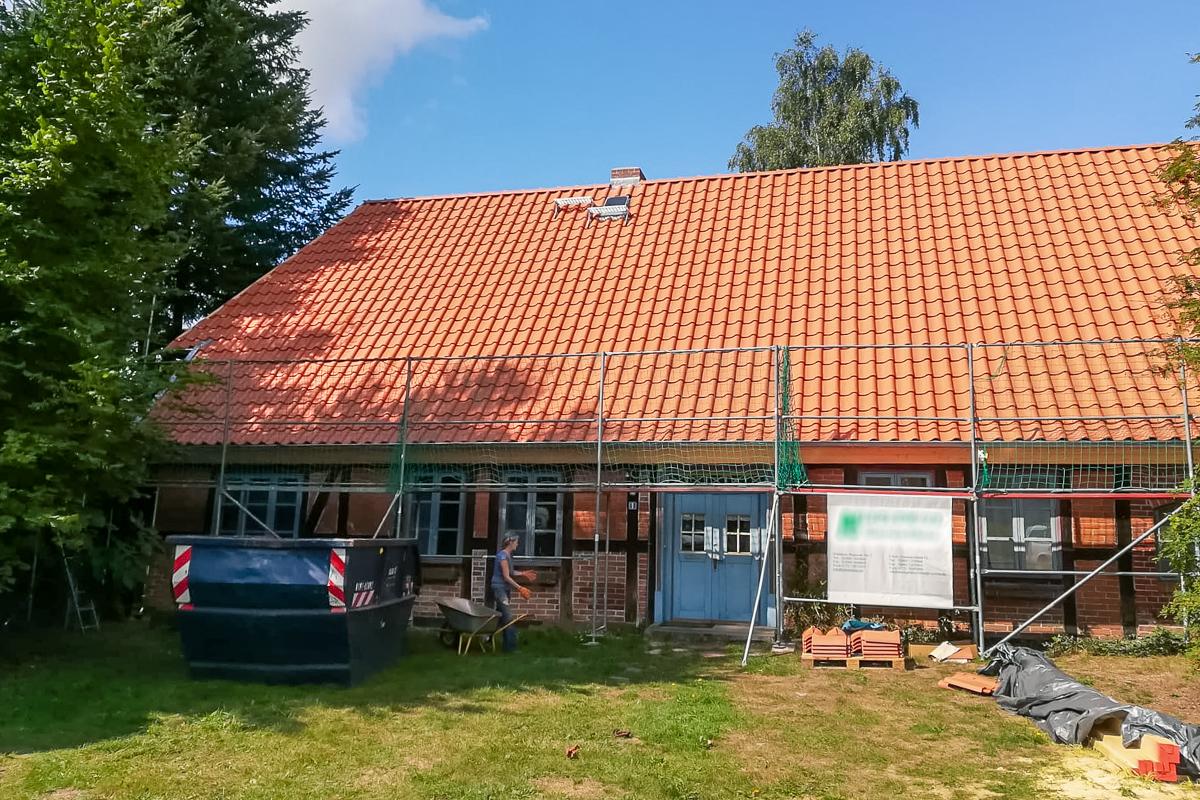 Dachdeckerei Krüger © 2018 - Eindeckung Neubau
